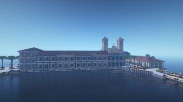 La Miranda - A La Habana style city island Minecraft Map & Project