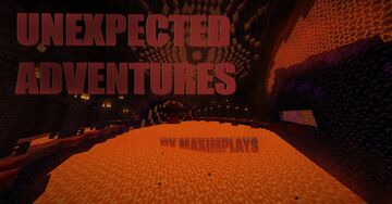 Unexpected Adventures Minecraft Map & Project