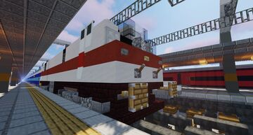Indian Railways WAP-5 Minecraft Map & Project