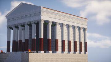 Roman Temple Minecraft Map & Project