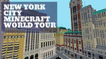 Minecraft New York City World Tour - Custom Built Minecraft Map & Project