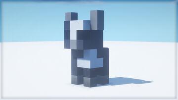 Cow Statue | .nbt Schematic Minecraft Map & Project