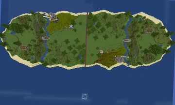 Capture The Flag Minecraft Map & Project