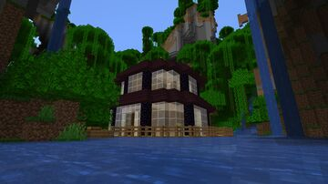 House by the Waterfalls Minecraft Map & Project