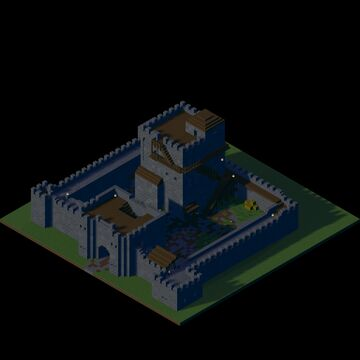 Hrus Castle Minecraft Map & Project