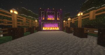 Meloness's Icy Spruce Village Minecraft Map & Project