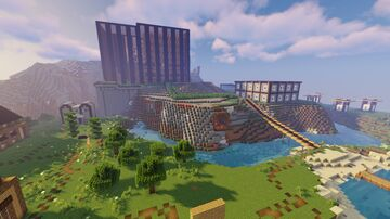 Long Bridge Minecraft Map & Project
