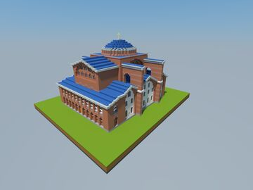Church of St. Polyeuktos Minecraft Map & Project