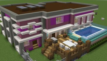 Modern House 3 - Metropolis Contest Minecraft Map & Project