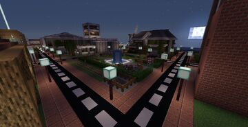 Minecraft Small City  1.15.2 (download) Minecraft Map & Project