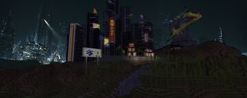 Abbess Colony: Cloud Atlas Pusan ( Ang333's contest) Minecraft Map & Project