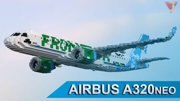 Airbus A320neo | PW1100/LEAP 1A Minecraft Map & Project