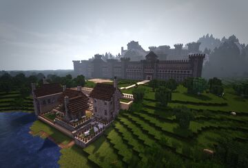 Castle Wintermyre Minecraft Map & Project