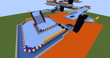 Ice Racing Minecraft Map & Project