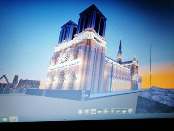 Cathedrale Notre Dame Minecraft Map & Project