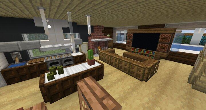 2x3 - Luxurious Modern House interior