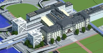 Avelia C - Central station Minecraft Map & Project