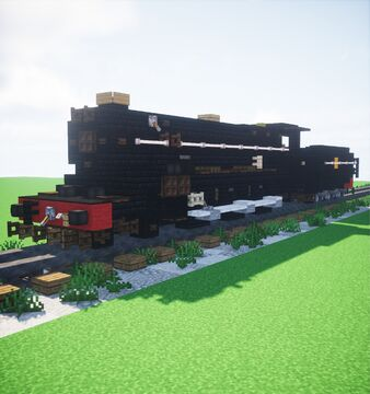GWR 4300 Class Minecraft Map & Project