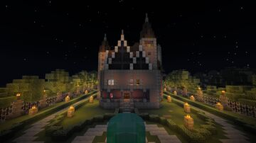 Keffer Mansion Minecraft Map & Project
