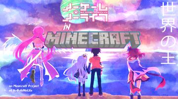 BUILDING NO GAME NO LIFE in MINECRAFT ALL 16 RACES, NEED HELP Minecraft Map & Project