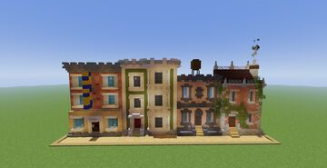 Small Street Facade Minecraft Map & Project