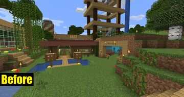 AntVenom's Peaceful Map (Completely Redesigned) - 1.15.1 - World Download! Minecraft Map & Project