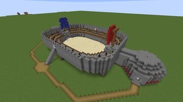 Arena PVP/ PVE (two sides) Minecraft Map & Project