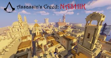 Assassin's Creed: Nashik – Parkour map for MC 1.14.4 Minecraft Map & Project
