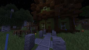 Witchy house Minecraft Map & Project