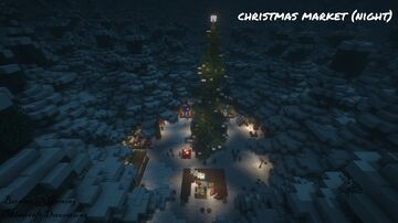 Christmas Market Minecraft Map & Project