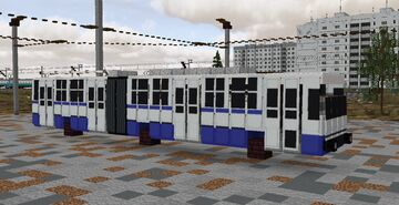 Trolleybus ЮМЗ Т1/Т2 Minecraft Map & Project