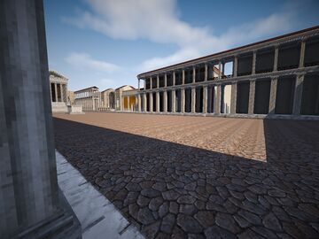 Pompeii Minecraft Map & Project