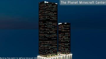 The Planet Minecraft Center - Realistic 1:1 International Office Complex Minecraft Map & Project