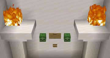 Zombie Defense Minecraft Map & Project