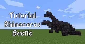 Rhinoceros Beetle Minecraft Map & Project