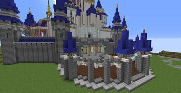 Cinderella's Castle Minecraft Map & Project