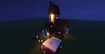 Happy heloween hunted house Minecraft Map & Project