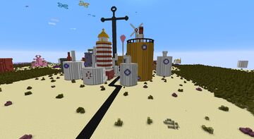 Bikini Bottom (verson 1) Minecraft Map & Project
