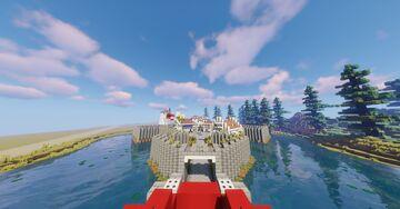 Fort McKenzie Minecraft Map & Project