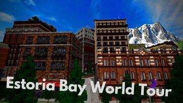 Estoria Bay AMAZING WORLD TOUR Minecraft Map & Project