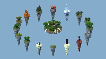 Skywars Biome Map 1.8 + Download!! Minecraft Map & Project
