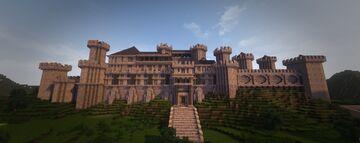 Kingdom of Wintermyre Series: Vordra Palace Minecraft Map & Project