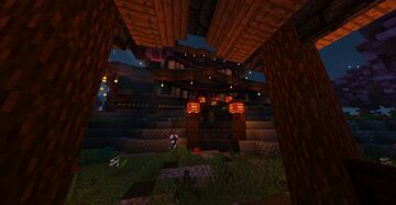 Oriental Inspired Build Minecraft Map & Project