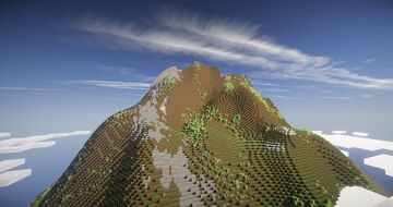Giant Vulcano Minecraft Map & Project