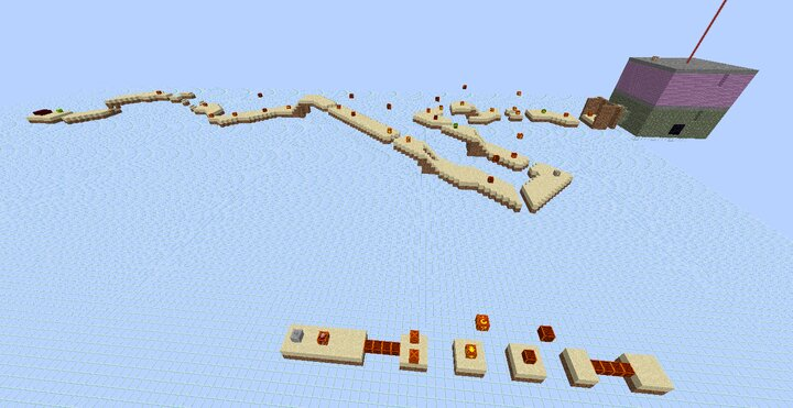 Fly by view of a world example... shown is World 1-1