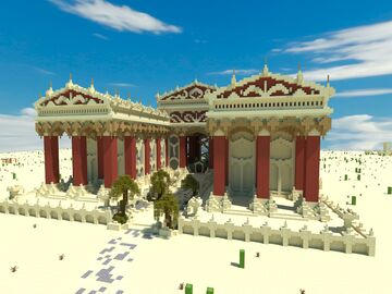 The Desert Temple of Menhir Minecraft Map & Project