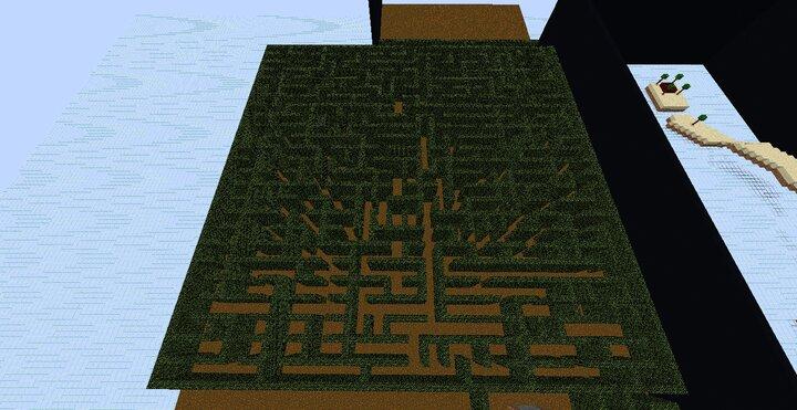 Haunted Maze level...