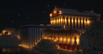 Ancient temples in The Blocky Place server Minecraft Map & Project