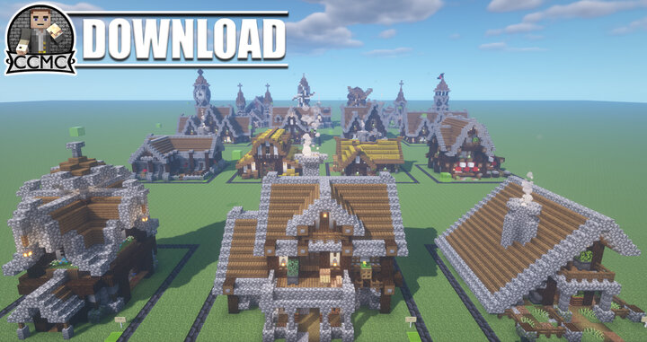 17 Medieval Builds Pack   Download 1 16 2 Minecraft Map