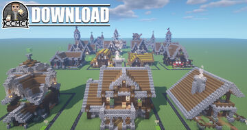 17 Medieval Builds Repository + Download 1.16.2 Minecraft Map & Project